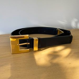 Zara belt - Black and Gold